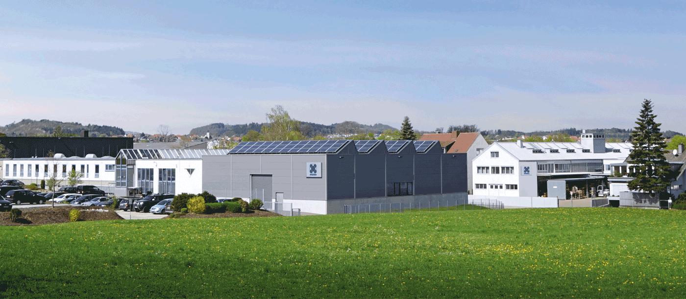 Franke headquarters in Aalen, Germany
