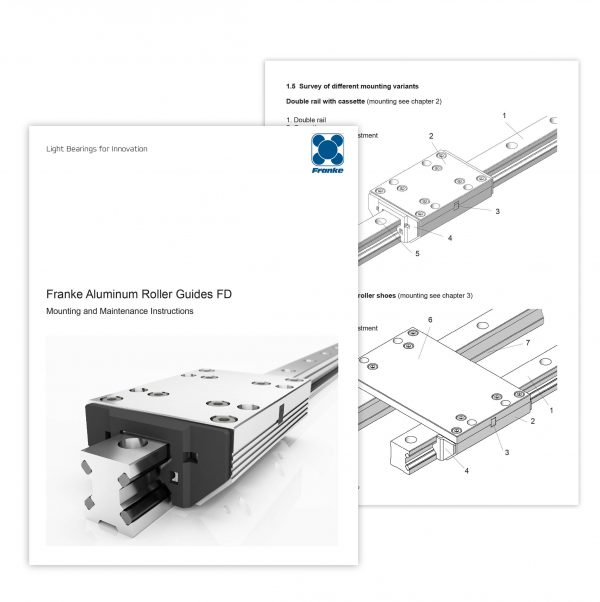 Franke Bespoke Linear & Rotary Mounting Instructions