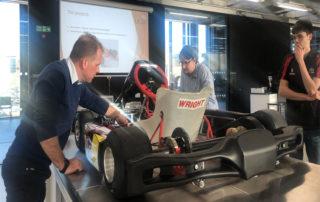 UCLan Formula Studen Visit