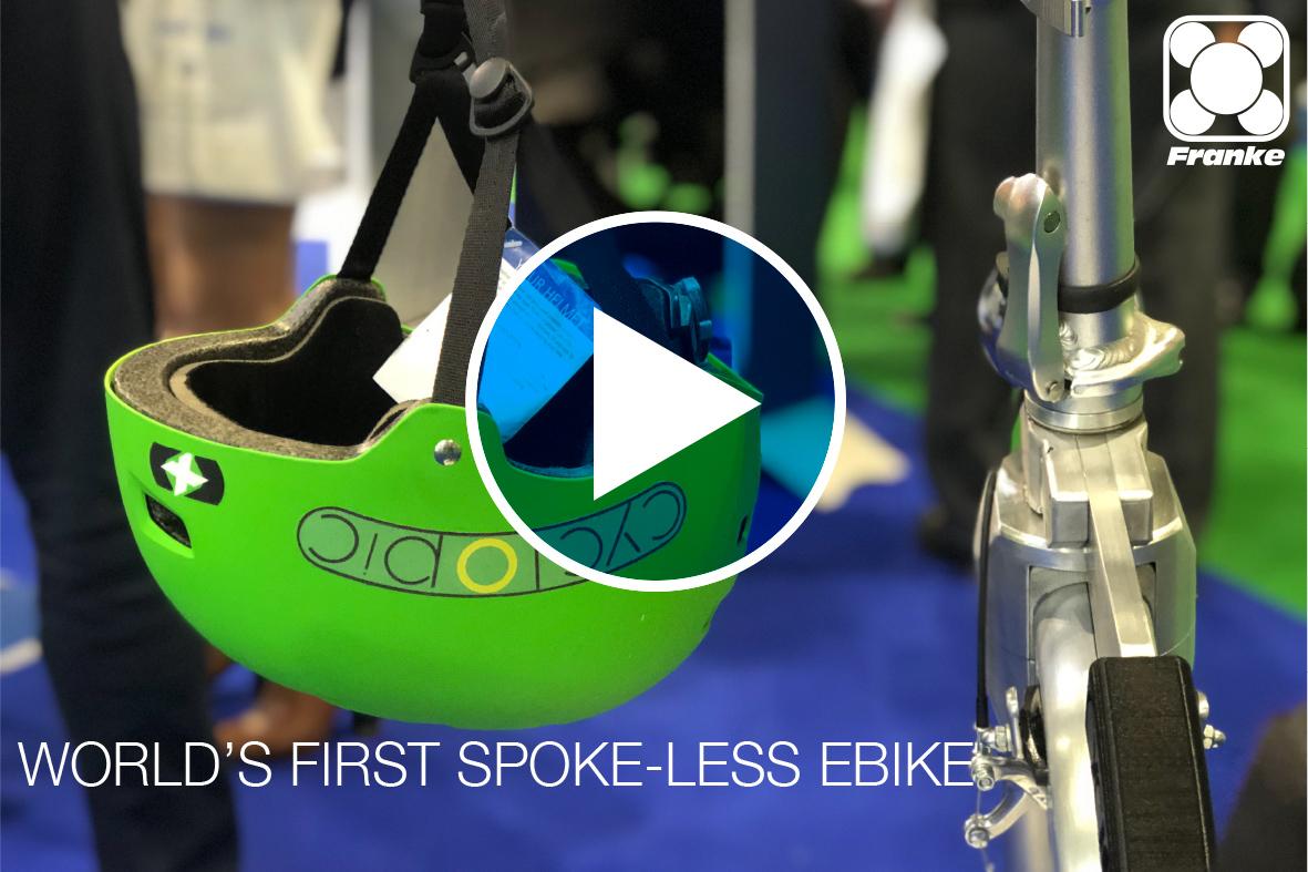Franke Bearings feature in Ecyclopic Bike