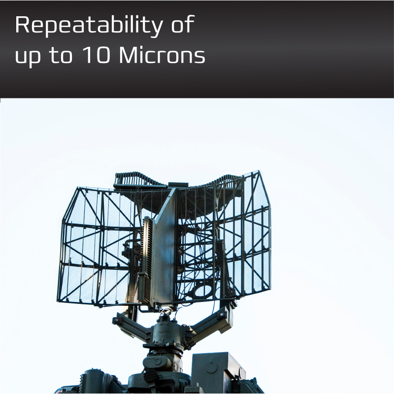Direct Drive - Repeatability up to 10 microns