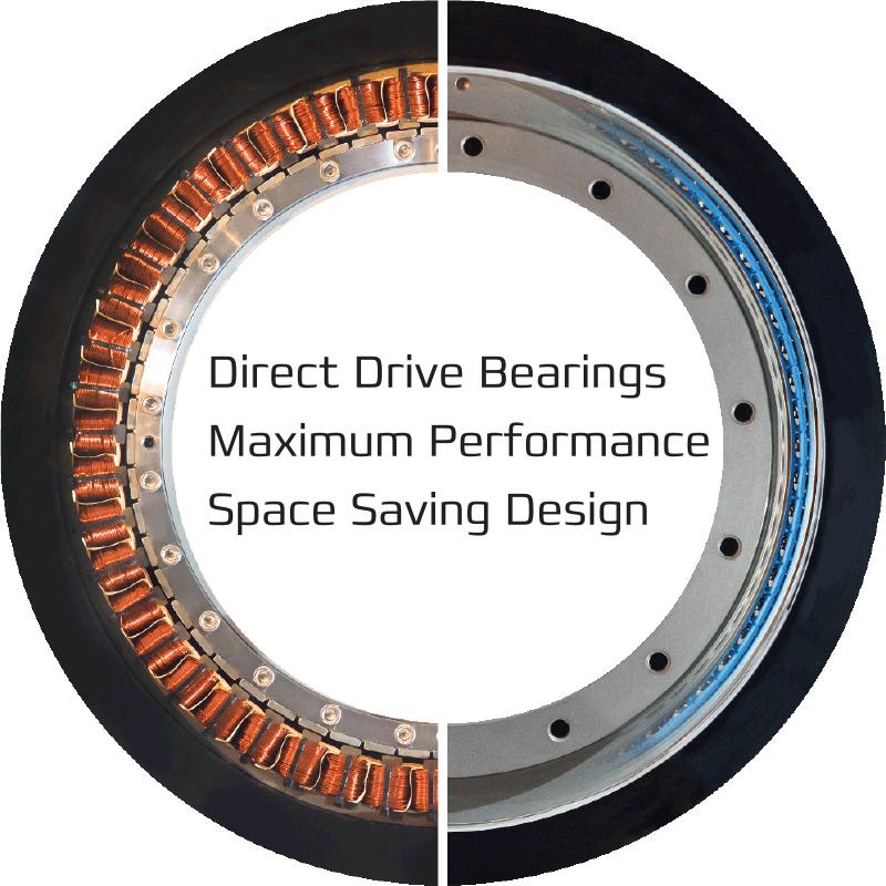 Direct Drive Bearings - Maximum Performance