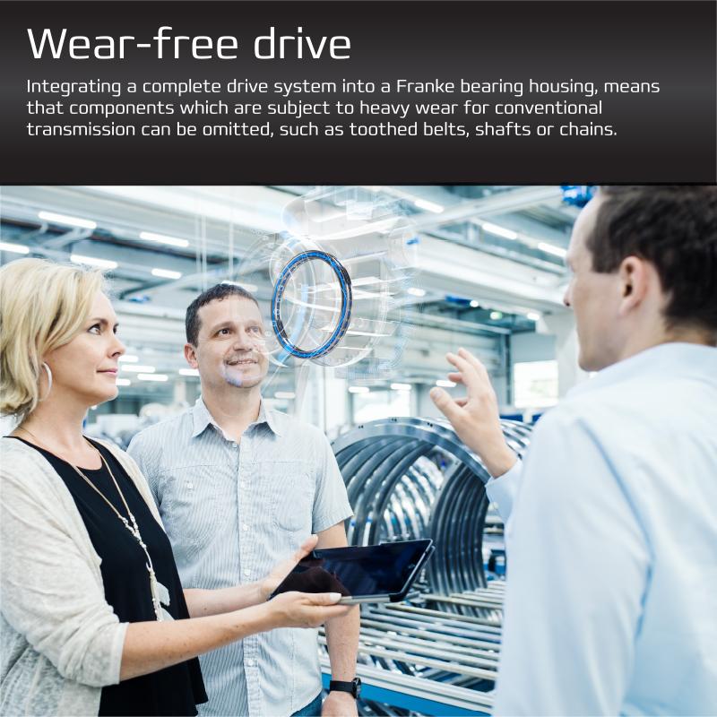 Direct Drive - Wear Free Drive
