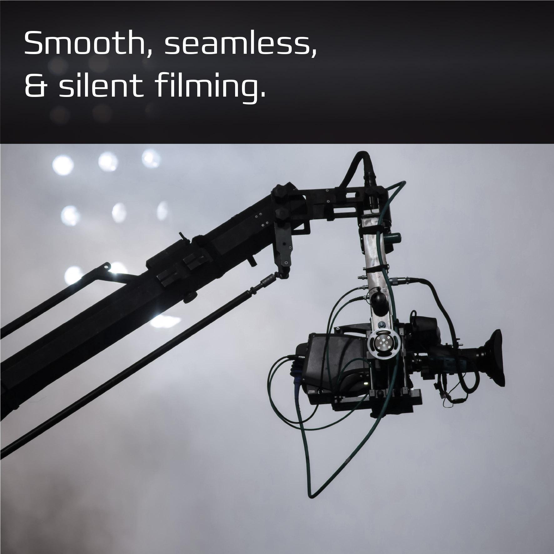 Film Camera on crane